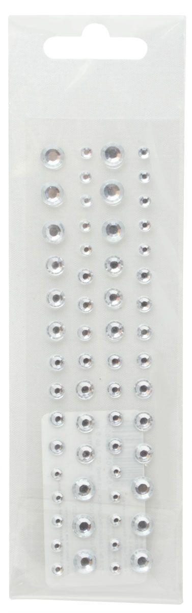 Стразы самоклеящиеся Кустарь, цвет: прозрачный, 3-6 мм, 60 шт7717059Самоклеящиеся стразы для скрапбукинга Кустарь, изготовленные из пластика, позволят украсить фотоальбом, скрап-странички, открытки, подарочные коробки, а также элементы одежды. Стразы оригинального и яркого дизайна круглой формы фиксируются при помощи специальной клейкой основы.Украшение стразами поможет сделать любую вещь оригинальной и неповторимой.Диаметр: 3-6 мм.