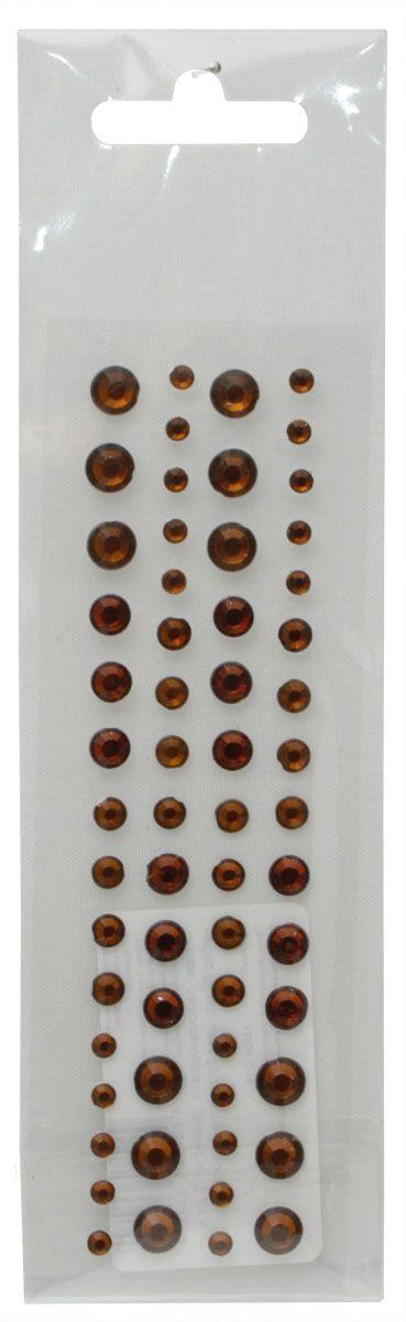 Стразы самоклеящиеся Кустарь, цвет: бронза, 3-6 мм, 60 штC0042416Самоклеящиеся стразы для скрапбукинга Кустарь, изготовленные из пластика, позволят украсить фотоальбом, скрап-странички, открытки, подарочные коробки, а также элементы одежды. Стразы оригинального и яркого дизайна круглой формы фиксируются при помощи специальной клейкой основы.Украшение стразами поможет сделать любую вещь оригинальной и неповторимой.Диаметр: 3-6 мм.