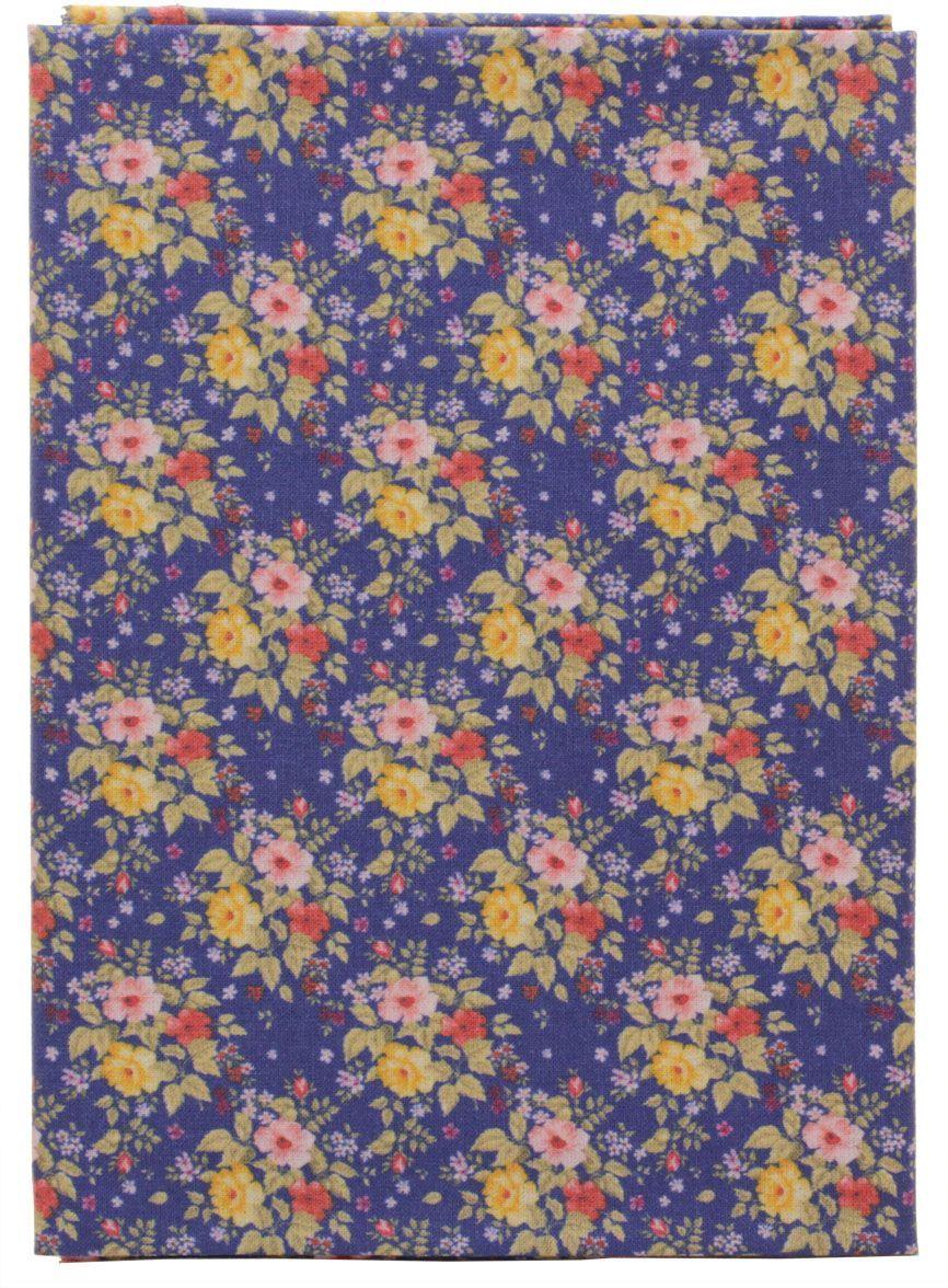 Ткань Кустарь Садовые цветы №6, 48 х 50 смRSP-202SТкань Кустарь - это высококачественная ткань из 100% хлопка, которая отлично подходит для пошива покрывал, сумок, панно, одежды, кукол. Также подходит для рукоделия в стиле скрапбукинг и пэчворк.Плотность ткани: 120 г/м2. Размер: 48 х 50 см.