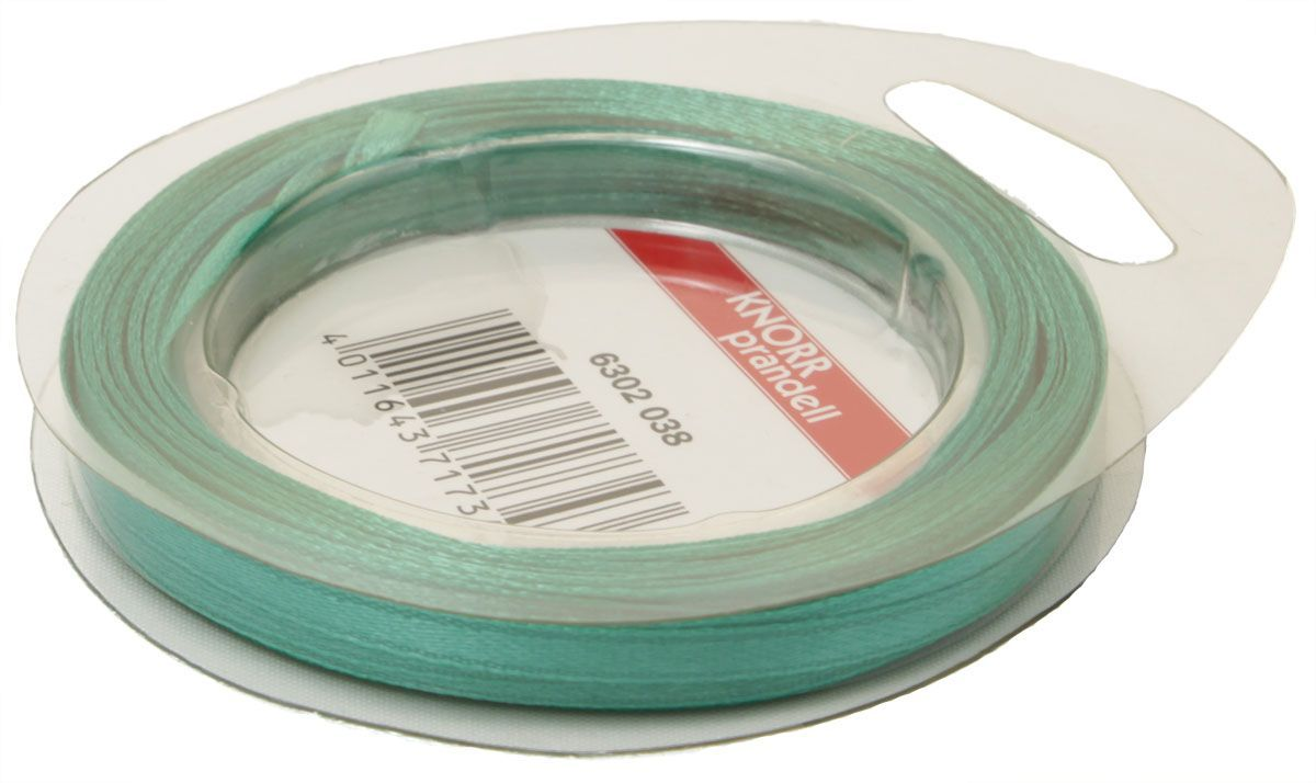 Лента декоративная Heyda, цвет: бирюзовый, 3 мм х 10 мNLED-454-9W-BKАтласная декоративная лента Heyda применяется для декорирования.Ширина ленты: 3 мм.Длина ленты: 10 м.