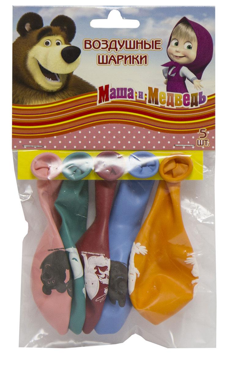 Маша и Медведь Набор воздушных шаров 5 шт