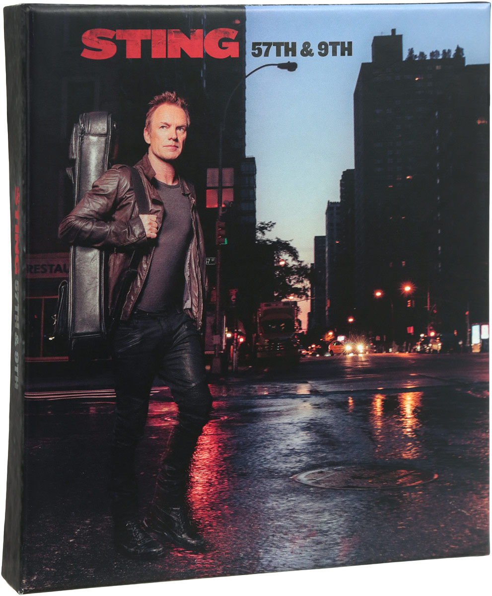 Стинг Sting. 57Th & 9Th. Super Deluxe Edition (CD + DVD) джеймс блант james blunt all the lost souls deluxe edition cd dvd
