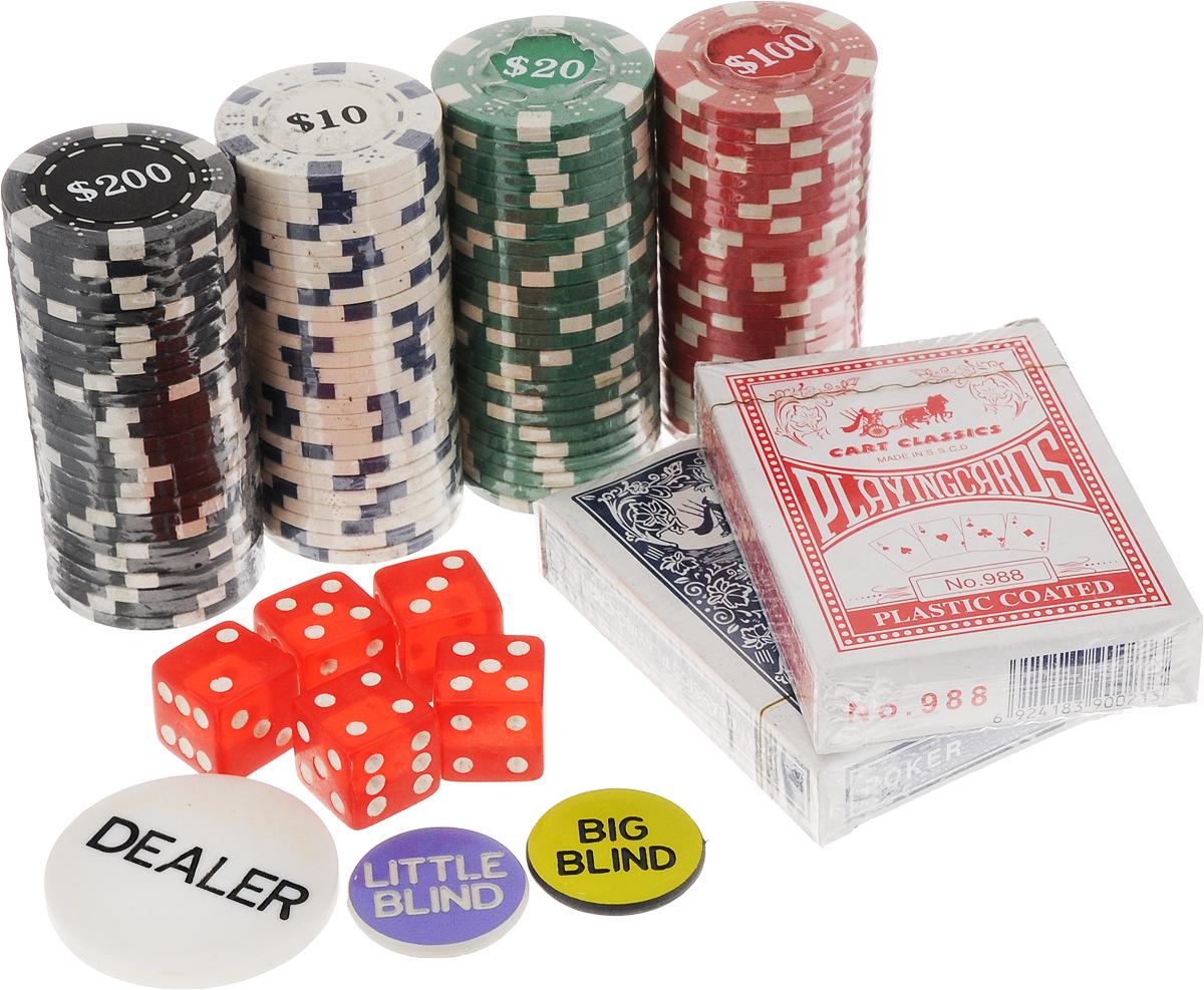 Игра настольная Эврика ПокерБрелок для ключейКарточная настольная игра Эврика Покер разнообразит ваш досуг. Набор расположен в компактном кейсе с ручкой, который закрывается на ключ, это сделает его хранение и транспортировку более удобной. Помимо карт и кубиков в комплекте есть фишки разной раскраски, что позволит легко делать ставки и подсчитывать выигрыш. Игра в покер станет отличным вариантом для времяпровождения с друзьями, а благодаря оригинальному дизайну упаковки и отменным подарком.