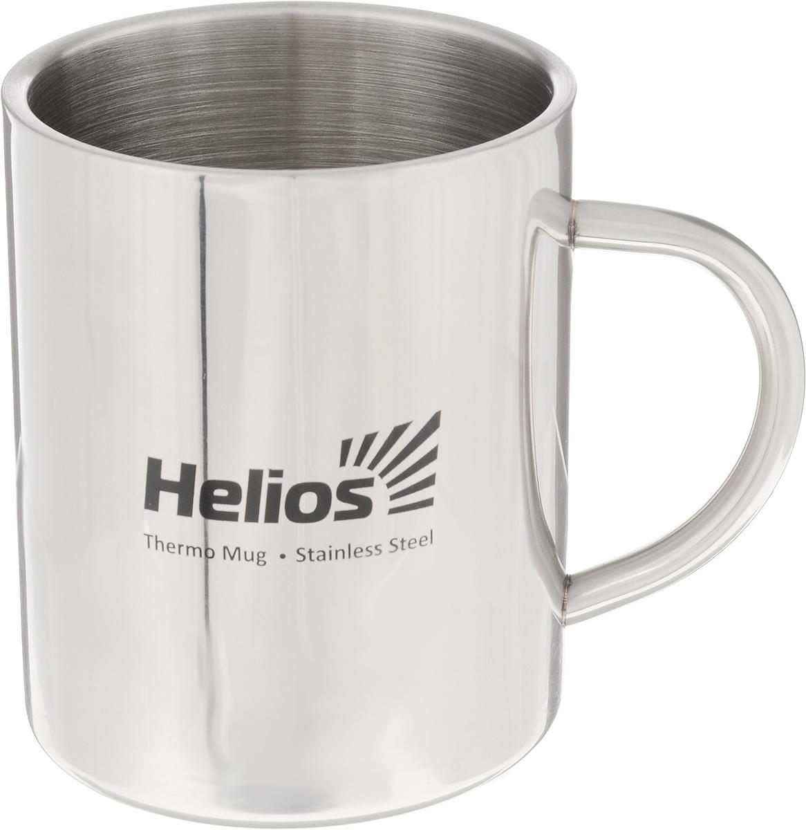 Термокружка HeliosHS TK-010,450 млWS 7064Термокружка Helios HS TK-010 предназначена специально для горячих и холодных напитков. Она изготовлена из высококачественной нержавеющей стали. Двойная стенка гарантирует долгое сохранение температуры и убережет от ожогов при заваривании чая или кофе. Такая кружка прекрасно сохраняет свою целостность и первозданный вид даже при многократном использовании.Диаметр кружки (по верхнему краю): 8,5 см. Высота кружки: 10,5 см.