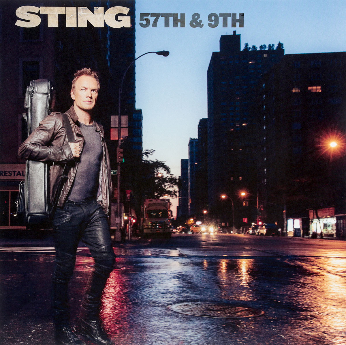 Стинг Sting. 57Th & 9Th (LP) sting sting the complete studio collection 16 lp