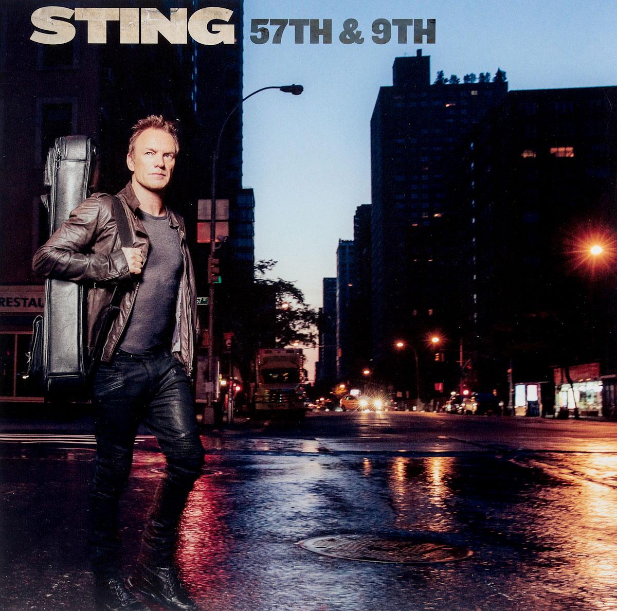 Стинг Sting. 57Th & 9Th (LP) стинг sting 25 years 3 cd dvd