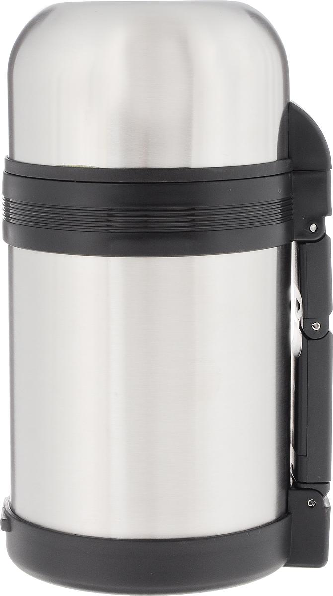 Термос пищевой Arctix, с чашей, 800 млKOC-H19-LEDТермос Arctix сохранит вашу еду или напитки горячими в течение долгого времени. Изделие выполнено из высококачественной нержавеющей стали с элементами из пластика. Термос оснащен крышкой, которую можно использовать в качестве чаши или миски, также есть дополнительная чаша и ремешок на плечо для удобной переноски.Пробка термоса состоит из двух составных частей: узкая внутренняя пробка пригодится для напитков, а более широкую внешнюю часть можно снять, чтобы удобнее было доставать из термоса еду. Забудьте об этих неудобствах - вместительный и компактный термос Arctix с радостью послужит вам в качестве миниатюрной полевой кухни, поднимет настроение нарядным внешним видом и вкусной домашней едой.Время сохранения температуры (холодной и горячей): 24 часа.Диаметр горлышка (по верхнему краю): 7,5 см.Диаметр клапана: 4 см.Диаметр крышки (по верхнему краю): 10,5 см.Высота крышки: 6 см.Диаметр чаши (по верхнему краю): 9,5 см. Высота чаши: 4 см.Высота термоса (с учетом крышки): 20,5 см.