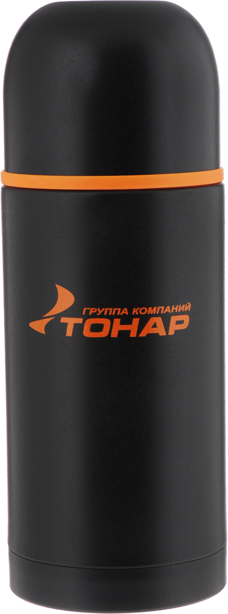 Термос Тонар HS TM-024, с чашей, 750 мл115510Термос Тонар HS TM-024 оснащен двойными стенками с вакуумной изоляцией, которая позволяет сохранять напитки горячими или холодными длительное время. Изготовлен из высококачественной нержавеющей стали, с защитным покрытием. Отлично сохраняет температуру, свежесть напитка и его оригинальный вкус. Дополнительная теплоизоляция внутри пробки. Пробка без кнопки надежно закрывает колбу и проста в использовании. Крышка может послужить вместительной чашкой, также в комплект входят дополнительная чаша и инструкция по эксплуатации. Термос сохраняет тепло до 12 часов и удерживает холод до 24 часов.Диаметр горлышка: 5 см.Диаметр основания: 8,8 см.Высота (с учетом крышки): 23,5 см.Размер крышки-чаши: 9 х 9 х 7 см. Размер чаши: 8 х 8 х 5 см.