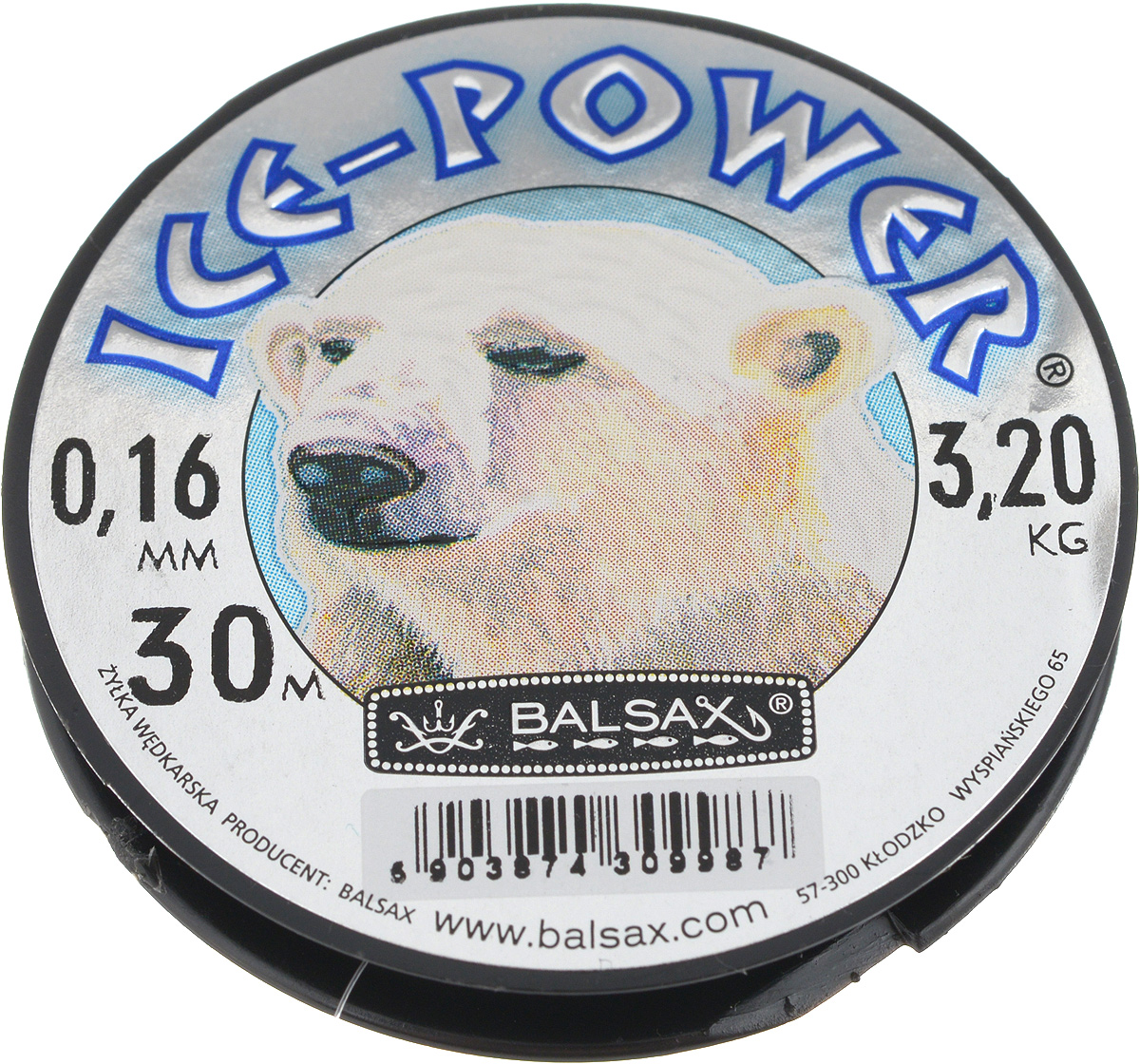 Леска зимняя Balsax Ice Power, 30 м, 0,16 мм, 3,2 кг310-11016Леска Balsax Ice Power изготовлена из 100% нейлона и очень хорошо выдерживает низкие температуры. Даже в самом холодном климате, при температуре вплоть до -40°C, она сохраняет свои свойства практически без изменений, в то время как традиционные лески становятся менее эластичными и теряют прочность.Поверхность лески обработана таким образом, что она не обмерзает и отлично подходит для подледного лова. Прочна в местах вязки узлов даже при минимальном диаметре.