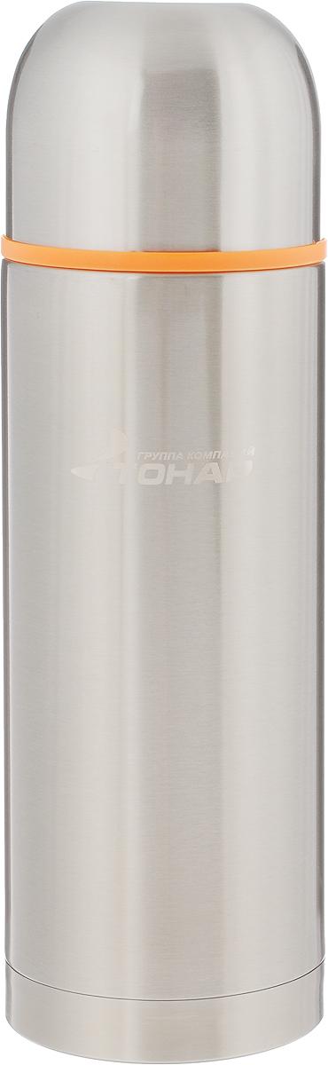 Термос Тонар HS TM-021, с чашей, 1 л2427012001Термос Тонар HS TM-021 выполнен из нержавеющей стали и оснащен двойными стенками с вакуумной изоляцией, которая позволяет сохранять напитки горячими или холодными длительное время. Отлично сохраняет температуру, свежесть напитка и его оригинальный вкус. Дополнительная теплоизоляция внутри пробки. Пробка без кнопки надежно закрывает колбу и проста в использовании. Крышка может послужить вместительной чашкой, также в комплект входят дополнительная чаша и инструкция по эксплуатации. Термос сохраняет тепло до 12 часов и удерживает холод до 24 часов.Диаметр горлышка: 5 см.Диаметр основания: 8,8 см.Высота (с учетом крышки): 28,5 см.Размер крышки: 9 х 9 х 7 см. Размер чаши: 8 х 8 х 5 см.