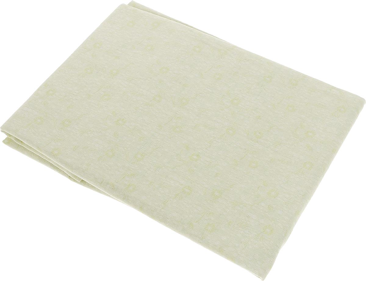 Скатерть Гаврилов-Ямский Лен, прямоугольная, цвет: светло-зеленый, 150 x 180 см. 1со3208-21со3208-2Скатерть Гаврилов-Ямский Лен выполнена из 51% льна и 49% хлопка и декорирована жаккардовым рисунком. Данное изделие является незаменимым аксессуаром для сервировки стола.Лен - поистине уникальный, экологически чистый материал. Изделия из льна обладают уникальными потребительскими свойствами.Хлопок представляет собой натуральное волокно, которое получают из созревших плодов такого растения как хлопчатник. Качество хлопка зависит от длины волокна - чем длиннее волокно, тем ткань лучше и качественней.Такая скатерть очень практична и неприхотлива в уходе. Она создаст тепло и уют в вашем доме.