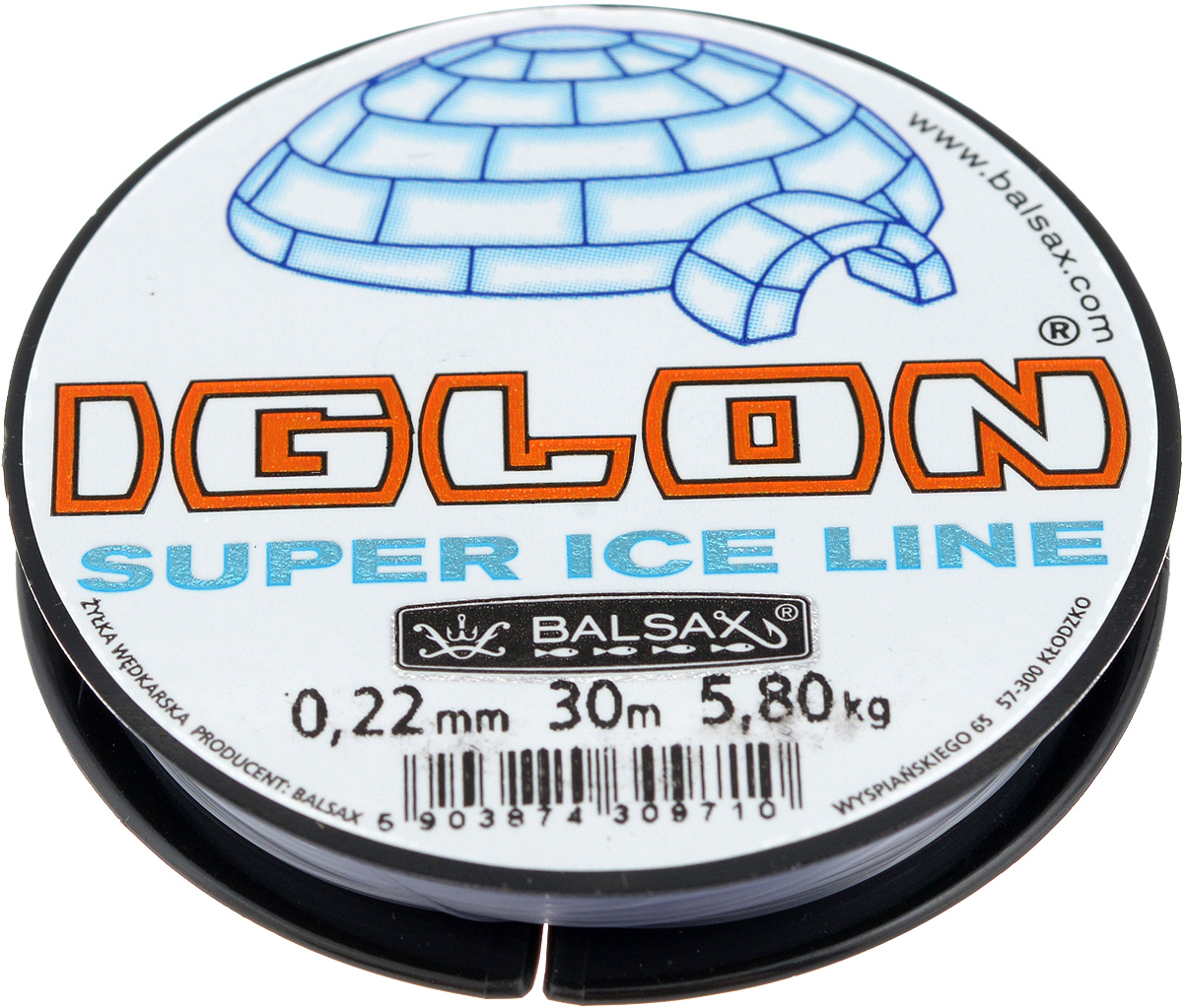 Леска зимняя Balsax Iglon, 30 м, 0,22 мм, 5,8 кг