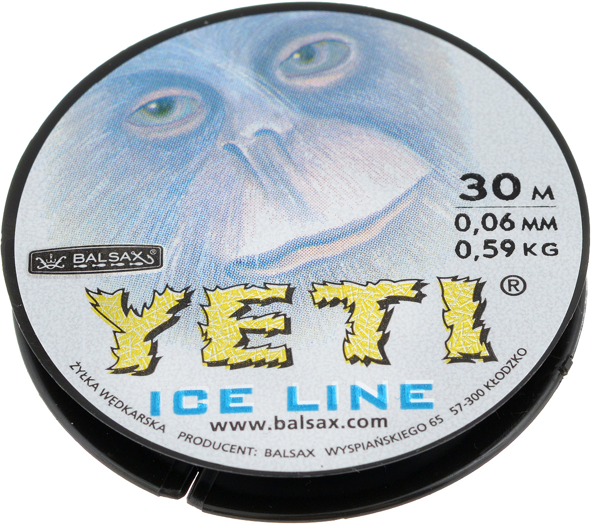 Леска зимняя Balsax Yeti, 30 м, 0,06 мм, 0,59 кг54243Леска Balsax Yeti изготовлена из 100% нейлона и очень хорошо выдерживает низкие температуры. Даже в самом холодном климате, при температуре вплоть до -40°C, она сохраняет свои свойства практически без изменений, в то время как традиционные лески становятся менее эластичными и теряют прочность.Поверхность лески обработана таким образом, что она не обмерзает и отлично подходит для подледного лова. Прочна в местах вязки узлов даже при минимальном диаметре.