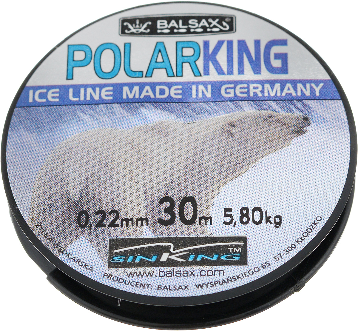 Леска зимняя Balsax Polar King, 30 м, 0,22 мм, 5,8 кг310-13018Леска Balsax Polar King изготовлена из 100% нейлона и очень хорошо выдерживает низкие температуры. Даже в самом холодном климате, при температуре вплоть до -40°C, она сохраняет свои свойства практически без изменений, в то время как традиционные лески становятся менее эластичными и теряют прочность.Поверхность лески обработана таким образом, что она не обмерзает и отлично подходит для подледного лова. Прочна в местах вязки узлов даже при минимальном диаметре.
