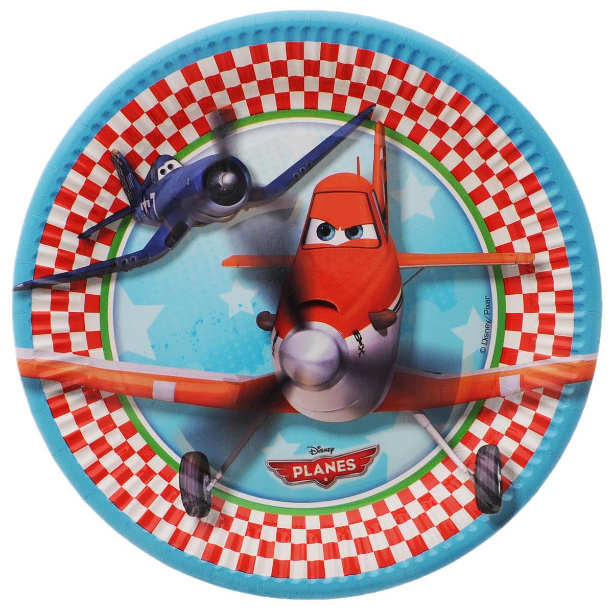 Procos Тарелка Самолеты 20 см 8 шт кнопки mitac mio a701 громкости и камеры