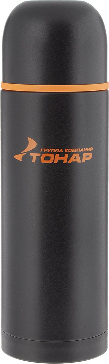 Термос ТОНАР HS TM-026, с чашей, 1,2 л737843Термос ТОНАР HS TM-026 оснащен двойными стенками с вакуумной изоляцией, которая позволяет сохранять напитки горячими или холодными длительное время. Изготовлен из высококачественной нержавеющей стали, с защитным покрытием. Отлично сохраняет температуру, свежесть напитка и его оригинальный вкус. Дополнительная теплоизоляция внутри пробки. Пробка без кнопки надежно закрывает колбу и проста в использовании. Крышка может послужить вместительной чашкой, также в комплект входят дополнительная чаша и инструкция по эксплуатации. Термос сохраняет тепло до 12 часов и удерживает холод до 24 часов.Диаметр горлышка: 5 см.Диаметр основания: 9 см.Высота (с учетом крышки): 33 см.Размер крышки-чаши: 9 х 9 х 7 см. Размер чаши: 8 х 8 х 5 см.