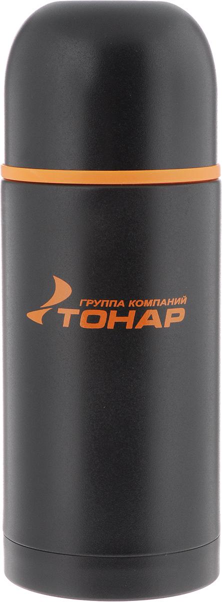 Термос ТОНАР HS TM-025, с чашей, 1 лAS009Термос ТОНАР HS TM-025 оснащен двойными стенками с вакуумной изоляцией, которая позволяет сохранять напитки горячими или холодными длительное время. Изготовлен из высококачественной нержавеющей стали, с защитным покрытием. Отлично сохраняет температуру, свежесть напитка и его оригинальный вкус. Дополнительная теплоизоляция внутри пробки. Пробка без кнопки надежно закрывает колбу и проста в использовании. Крышка может послужить вместительной чашкой, также в комплект входят дополнительная чаша и инструкция по эксплуатации. Термос сохраняет тепло до 12 часов и удерживает холод до 24 часов.Диаметр горлышка: 5 см.Диаметр основания: 9 см.Высота (с учетом крышки): 29,5 см.Размер крышки-чаши: 9 х 9 х 7 см. Размер чаши: 8 х 8 х 5 см.