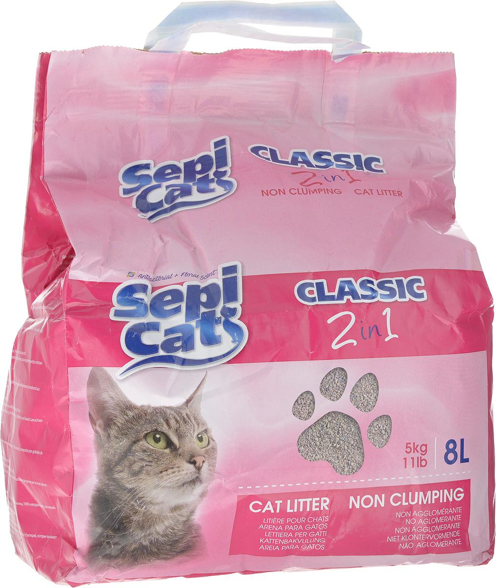 Наполнитель для кошачьих туалетов SepiCat Антибактериальный, классический, впитывающий, 8 л0120710Наполнитель SepiCat Антибактериальный - это экологически чистый наполнитель для кошачьего туалета. Изготовлен из 100% натуральных минеральных компонентов. Безопасен для животного и для человека.Инновационная антибактериальная формула обеспечит исключительную гигиеничность лотка, защищая вашего питомца и дом от бактерий.Быстро и эффективно впитывает и удерживает большое количество влаги, надежно поглощает запах, не допускает появления неприятного запаха вновь.Антибактериальные ароматические гранулы активируются при контакте с жидкостью, что обеспечит чистоту и комфорт на продолжительное время. Состав: 100% натуральная глина, антибактериальные добавки.Товар сертифицирован.