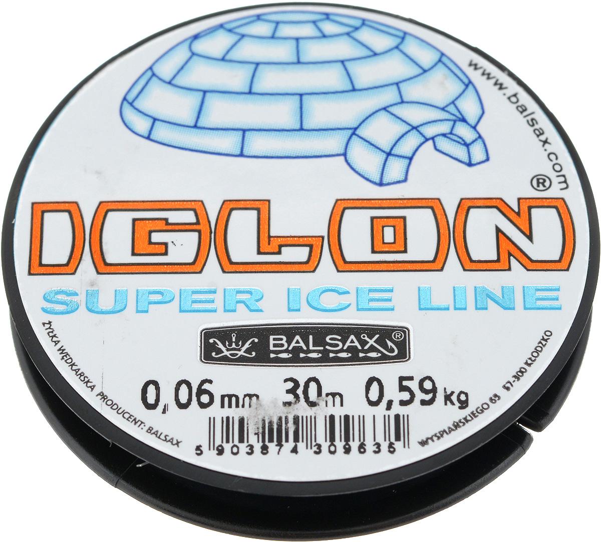 Леска зимняя Balsax Iglon, 30 м, 0,06 мм, 0,59 кгMABLSEH10001Леска Balsax Iglon изготовлена из 100% нейлона и очень хорошо выдерживает низкие температуры. Даже в самом холодном климате, при температуре вплоть до -40°C, она сохраняет свои свойства практически без изменений, в то время как традиционные лески становятся менее эластичными и теряют прочность.Поверхность лески обработана таким образом, что она не обмерзает и отлично подходит для подледного лова. Прочна в местах вязки узлов даже при минимальном диаметре.