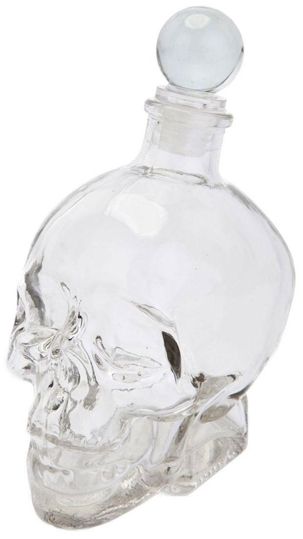 Графин Bradex Бедный Йорик, 440 млVT-1520(SR)Необычный графин Bradex Бедный Йорик в форме черепа станет оригинальным подарком или аксессуаром для предстоящего праздника. Объем: 440 мл.