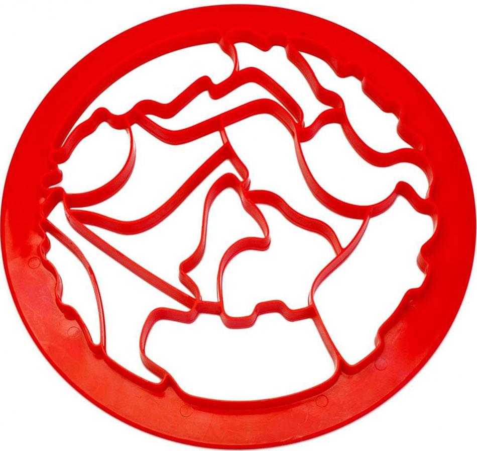 Форма для вырезания печенья Bradex Зоопарк54 009312Пластиковая пресс-форма для вырезания печенья Bradex Зоопарк позволяет одним нажатием вырезать из теста сразу 15 фигур в виде различных животных, птиц и рыб.Легкость в использовании позволяет готовить вместе с ребенком.