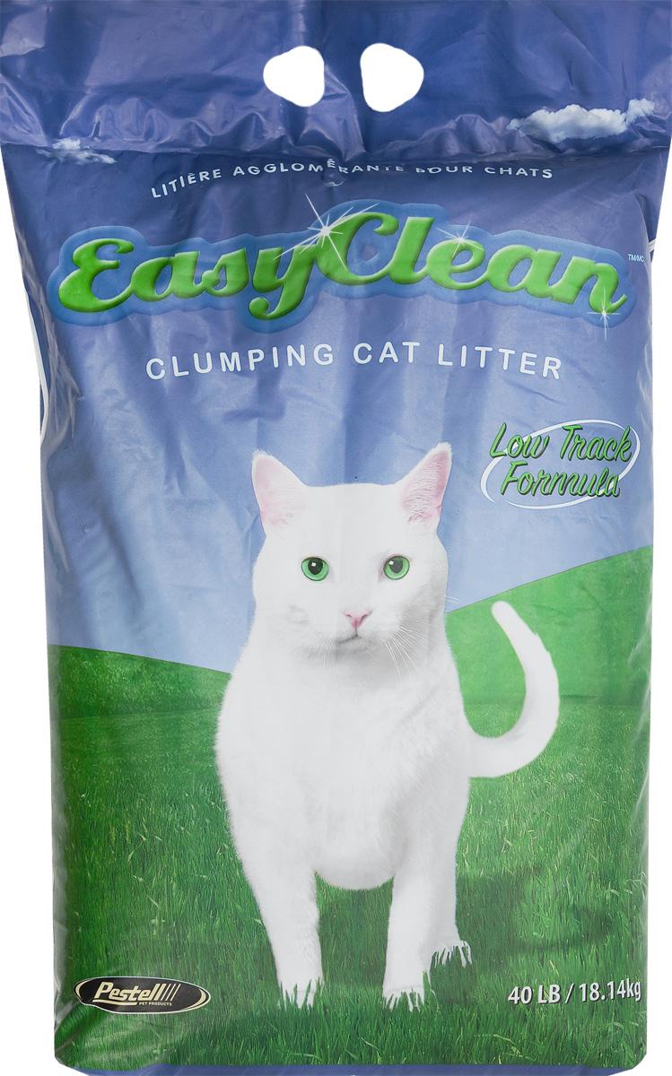 Наполнитель для кошачьих туалетов Easy Clean, комкующийся, для длинношерстных кошек, 18,14 кг0120710Наполнитель Easy Clean - это суперэкономичный наполнитель на основе 100% бентонита натрия. Превосходно удерживает запах и совершенно безвреден для людей, животных и окружающей среды, так как представляет собой природный материал и не содержит искусственных добавок. Экономичен и удобен в использовании.Не пылит, что способствует уменьшению следов лап после пользования лотком.Не утилизировать комки или использованный наполнитель в канализацию (унитаз).Состав: бентонит натрия.Товар сертифицирован.