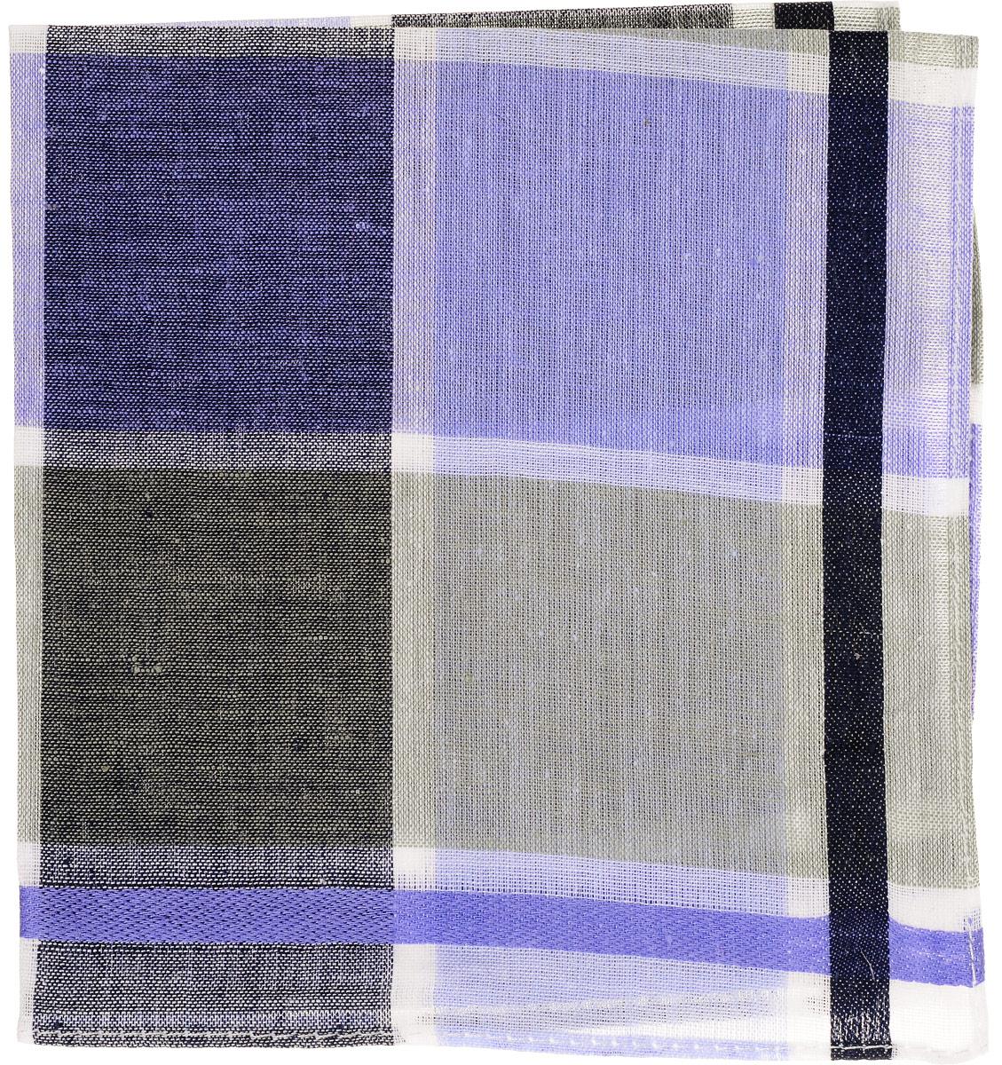 Платок носовой женский Zlata Korunka, цвет: фиолетовый, серый, клетка. 45471. Размер 27 х 27 смСерьги с подвескамиЖенский носовой платок Zlata Korunka изготовлен из натурального хлопка, приятный в использовании, хорошо стирается, материал не садится и отлично впитывает влагу.