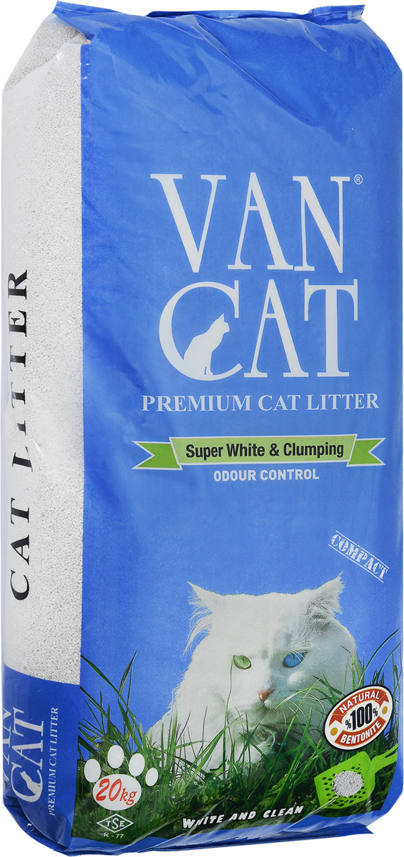 Наполнитель для кошачьих туалетов Van Cat Odour Control, комкующийся, без пыли, 20 кг0120710Наполнитель для кошачьего туалета Van Cat Odour Control эффективно устраняет неприятные запахи Обладает высокой абсорбцией, отлично комкуется, не пылит, лапы остаются чистыми.Безопасен для животных и окружающей среды. Сохраняет лоток сухим, прост в уборке. Размер гранул: 0,6-2,25 мм.
