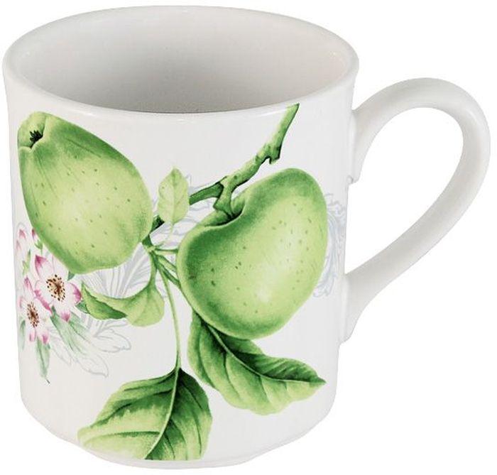 Кружка Imari Зеленые яблоки, 300 мл115510Кружка Imari Зеленые яблок, изготовленная из высококачественной керамики, оформлена ярким рисунком. Яркий дизайн и красочность оформления придутся по вкусу и ценителям классики, и тем, кто предпочитает утонченность и изысканность.Такая кружка станет незаменимым атрибутом чаепития, а также послужит приятным подарком для друзей и близких.