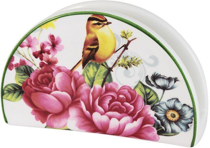Салфетница Imari Цветы и птицы82015_серыйСалфетница Imari Цветы и птицы выполнена из высококачественной керамики и украшена ярким рисунком. Салфетница идеально подойдет для украшения стола и станет отличным подарком к любому празднику. Элегантный дизайн салфетницы придется по вкусу и ценителям классики, и тем, кто предпочитает современный стиль.