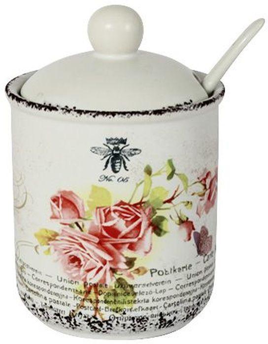 Сахарница LF Ceramic Розы, с ложкой, 175 млAPRARN77003Сахарница LF Ceramic Розы с крышкой и ложкой изготовлена из качественной керамики и украшена оригинальным рисунком.Емкость универсальна, подойдет как для сахара, так и для специй или меда. Для изготовления посуды LF Ceramic используется экологически чистая керамика, отличительной особенностью которой является прочность.Посуду LF Ceramic можно использовать в микроволновых печах для приготовления блюд, поскольку эта керамика выдерживает высокие температуры. Мыть керамическую посуду рекомендуется теплой водой с небольшим количеством моющих средств. Лучше не использовать абразивные пасты и металлические мочалки. Допускается мытье в посудомоечной машине при соблюдении инструкции изготовителя посудомоечной машины.