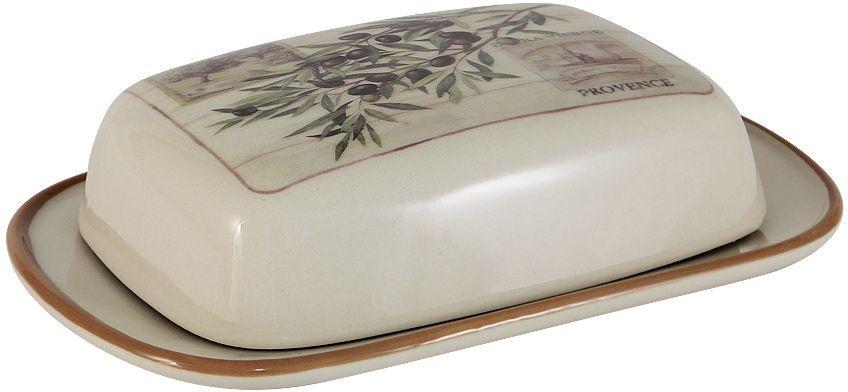 Масленка LF Ceramic ОливкиLF-195F9486-ALВеликолепная масленка LF Ceramic Оливки, выполненная из высококачественной керамики, предназначена для красивой сервировки и хранения масла. Она состоит из подноса и крышки. Масло в ней долго остается свежим, а при хранении в холодильнике не впитывает посторонние запахи. Масленка LF Ceramic Оливки идеально подойдет для сервировки стола и станет отличным подарком к любому празднику.Размер масленки: 18,5 х 12 см.