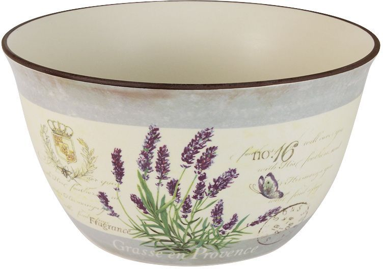 Салатник LF Ceramic Лаванда, диаметр 23 см68/5/3Салатник LF Ceramic Лаванда, изготовленный из высококачественной керамики, прекрасно подойдет для подачи различных блюд: закусок, салатов или фруктов. Такой салатник украсит ваш праздничный или обеденный стол.