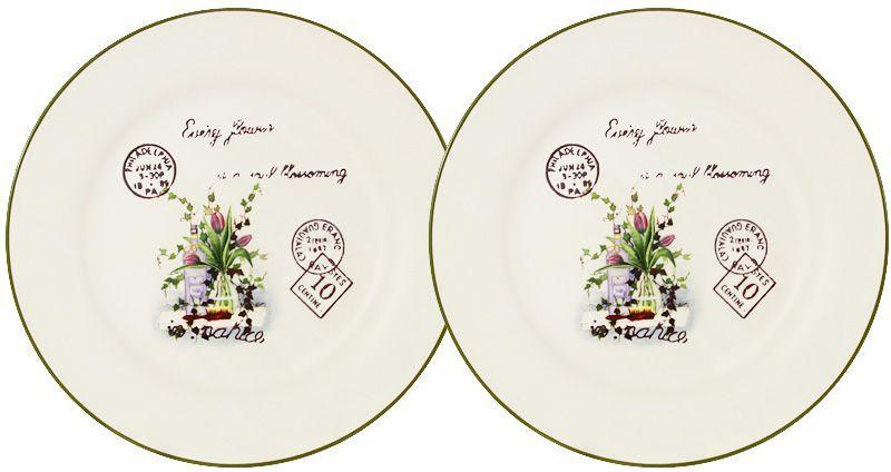 Набор десертных тарелок LF Ceramic Букет, диаметр 20 см, 2 шт115510Набор LF Ceramic Букет состоит из двух десертных тарелок, изготовленных из высококачественной керамики. Яркий дизайн изделий, несомненно, придется вам по вкусу.Набор LF Ceramic Букет украсит ваш кухонный стол, а также станет замечательным подарком к любому празднику.Диаметр тарелки: 20 см.
