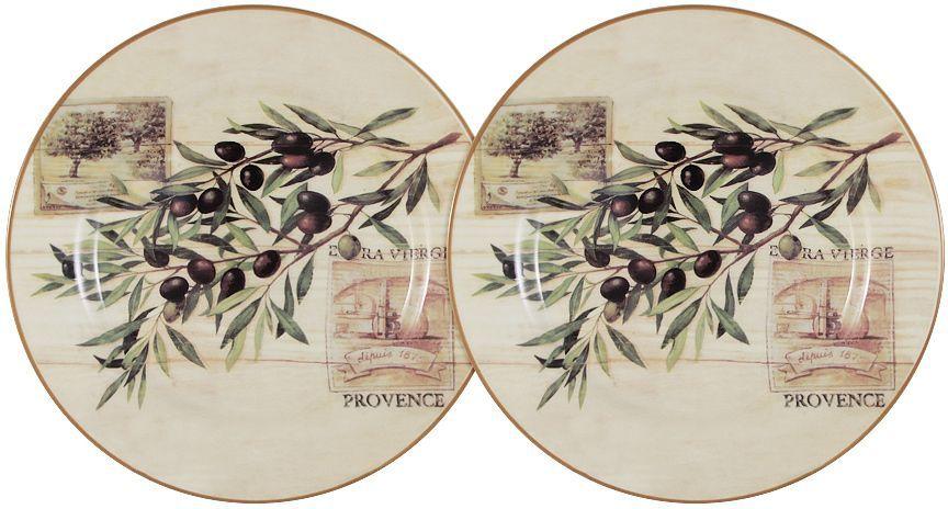 Набор десертных тарелок LF Ceramic Оливки, диаметр 20 см, 2 шт115610Набор LF Ceramic Оливки состоит из двух десертных тарелок, изготовленных из высококачественной керамики. Яркий дизайн изделий, несомненно, придется вам по вкусу.Набор LF Ceramic Оливки украсит ваш кухонный стол, а также станет замечательным подарком к любому празднику.Диаметр тарелки: 20 см.