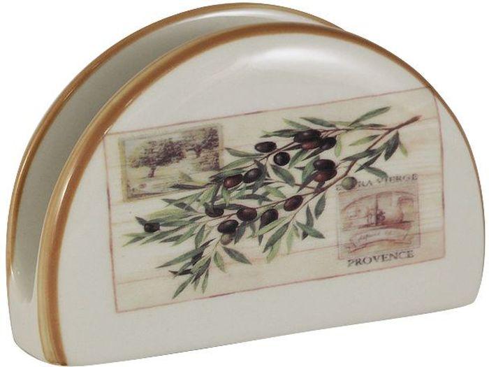 Салфетница LF Ceramic Оливки401-425Салфетница LF Ceramic Оливки выполнена из экологически чистой керамики, отличительной особенностью которой является прочность. Нанесение глазури, не содержащей свинца, придает посуде превосходный блеск. Изделие украшено изображением оливковой ветки. Такая салфетница отлично дополнит сервировку стола. Можно использовать в микроволновой печи и мыть в посудомоечной машине.Длина салфетницы: 12 см.
