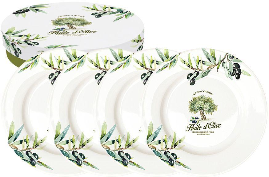 Набор десертных тарелок Nuova R2S Прованс, диаметр 19 см, 4 штR2S463/PROV-ALНабор Nuova R2S Прованс состоит из четырех десертных тарелок, выполненных из высококачественного фарфора. Изделия декорированы ярким рисунком и имеют круглую форму.Такой набор изящно украсит сервировку стола и порадует вас изящным дизайном.