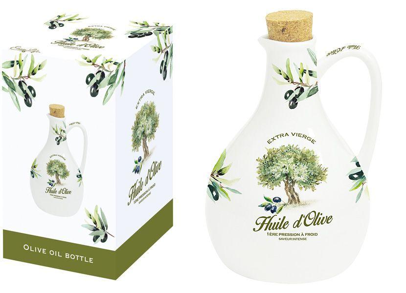 Бутылка для масла Nuova R2S Прованс, 500 мл4630003364517Бутылка для масла Nuova R2S Прованс изготовлена из высококачественного фарфора. Емкость легка в использовании, стоит только перевернуть ее, и вы с легкостью сможете добавить оливковое или подсолнечное масло по своему вкусу. Оригинальная емкость будет отлично смотреться на вашей кухне.