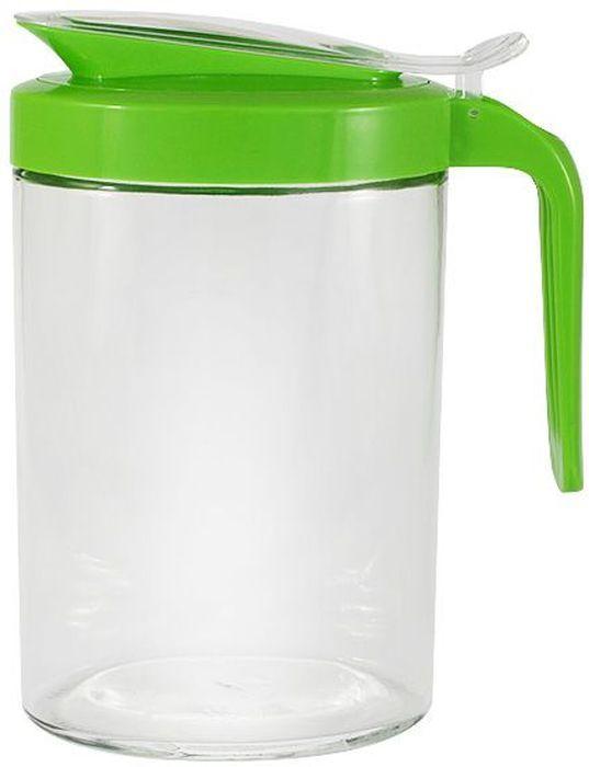 Кувшин SinoGlass, 1 л. SI-66994002-AL747421Кувшин SinoGlass изготовлен из прозрачного стекла и снабжен пластиковой крышкой и ручкой. При нажатии на кнопку на ручке крышка легко открывается. Кувшин идеально подойдет для воды, сока, молока и других напитков. Прозрачные стенки позволяют видеть количество содержимого.Такой функциональный кувшин станет незаменимым аксессуаром на любой кухне. Он удобный, практичный в использовании, легко моется.