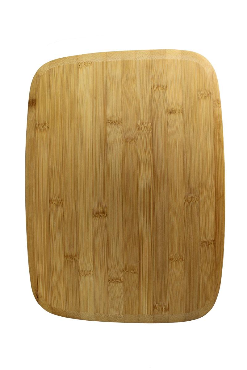 Доска разделочная Vetta, 28 х 38 см851135Разделочная доска Vetta Гринвуд, изготовленная из бамбука, прекрасно подходит для разделки и измельчения всех видов продуктов.