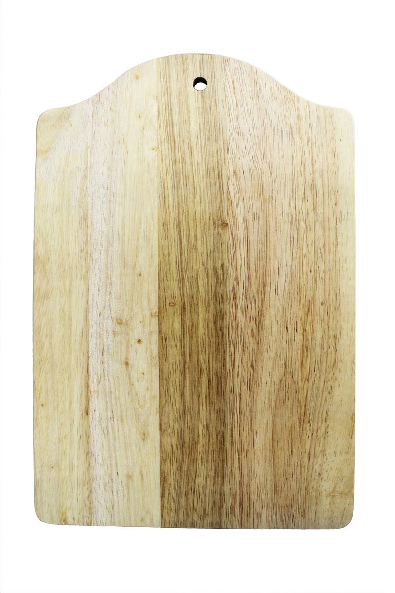 Доска разделочная Vetta, 34 х 23 см54 009312Разделочная доска Vetta, изготовленная из гевеи, прекрасно подходит для разделки и измельчения всех видов продуктов.