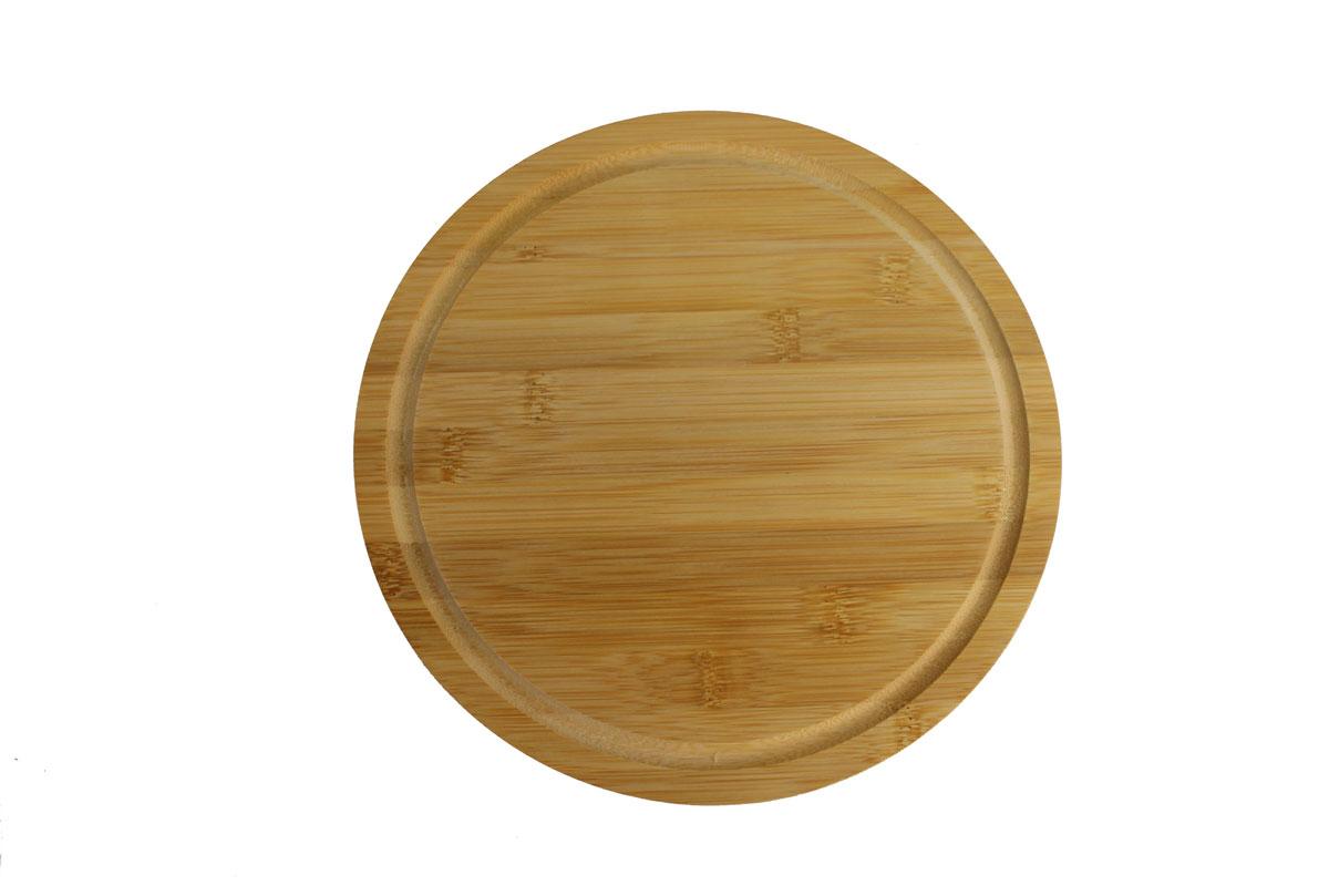 Доска разделочная Vetta, диаметр 23 см851122Разделочная доска Vetta, изготовленная из бамбука, прекрасно подходит для разделки и измельчения всех видов продуктов.