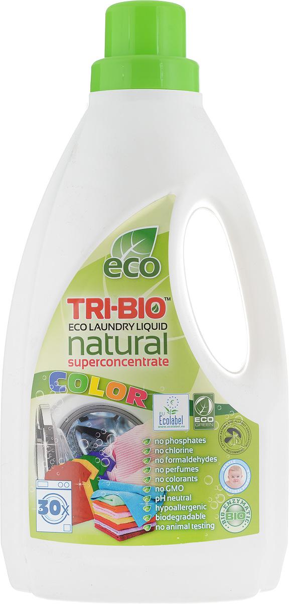 Эко-жидкость для стирки цветного белья Tri-Bio, концентрат, 1,42 л009381Эко-жидкость Tri-Bio - эффективная формула для стирки цветного белья, которая основана на био-энзимах и натуральных растительных и минеральных компонентах. Суперконцентрат рассчитан на 30 стирок. Не содержит фосфаты и формальдегиды, эффективно стирает и сохраняет ткани - предотвращает линьку и выцветание, не влияет на качество. Безопасная альтернатива химическим аналогам. Нейтральный pH. Идеально подходит для детского белья и людей с чувствительной кожей. Не содержит ароматов и красителей, рекомендуется для людей, склонных к аллергиям и астме. Состав: био-энзиматическая формула содержащая: 5-15% мыло, 5-15% неионогенные сурфактанты, Товар сертифицирован.