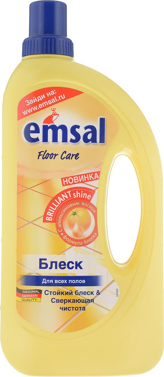 Средство для придания блеска полу Emsal, с апельсиновым воском, 1 лES-414Средство Emsal с ухаживающим составом и апельсиновым воском предназначено для придания идеального блеска полу. Оно обеспечивает чистоту и блеск без разводов. Придает поверхности стойкий блеск без дополнительной полировки и обеспечивает стойкую защиту от следов каблуков, царапин и повторного загрязнения. Свежий стойкий апельсиновый аромат. Подходит для применения на всех водоустойчивых полах.Товар сертифицирован.