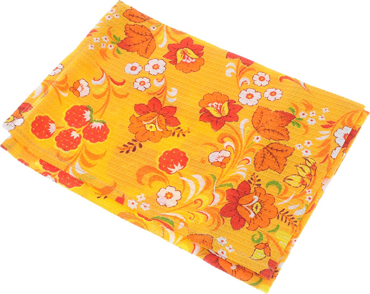Полотенце кухонное Roko Цветы, 60 х 30 смVT-1520(SR)Кухонное полотенце Roko Цветы, выполненное из 100% хлопка, оформлено оригинальным принтом. Изделие предназначено для использования на кухне и в столовой. Оно отлично впитывает влагу, быстро сохнет, сохраняет яркость цвета и не теряет форму даже после многократных стирок. Такое полотенце станет отличным вариантом для практичной и современной хозяйки.Рекомендуется стирка при температуре 40°C.