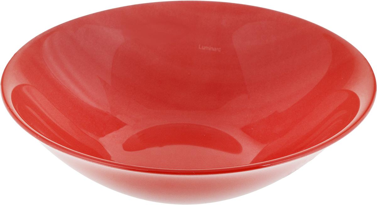 Салатник Luminarc Colorama, цвет: красный, диаметр 17 смH8554Салатник Luminarc Colorama выполнен из высококачественного стекла. Он прекрасно впишется в интерьер вашей кухни и станет достойным дополнением к кухонному инвентарю. Диаметр салатника (по верхнему краю): 17 см.