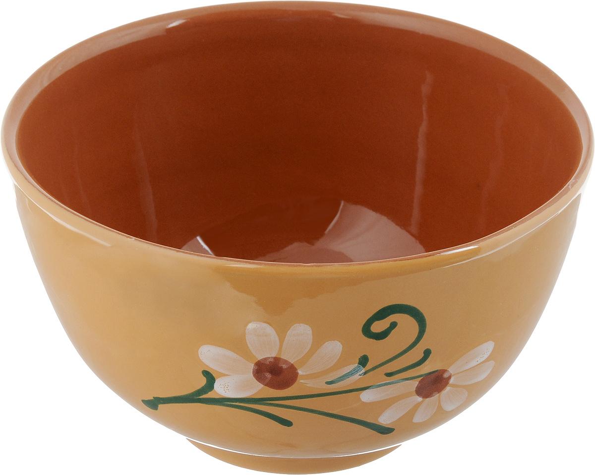 Салатник Борисовская керамика Cтандарт, 1,2 л115510Салатник Борисовская керамика Cтандарт выполнен из высококачественной красной глины. Яркий дизайн придется по вкусу и ценителям классики, и тем, кто предпочитает утонченность и изысканность. Салатник Борисовская керамика Cтандарт идеально подойдет для сервировки стола и станет отличным подарком к любому празднику.Можно использовать в духовке и микроволновой печи. Диаметр (по верхнему краю): 17 см.