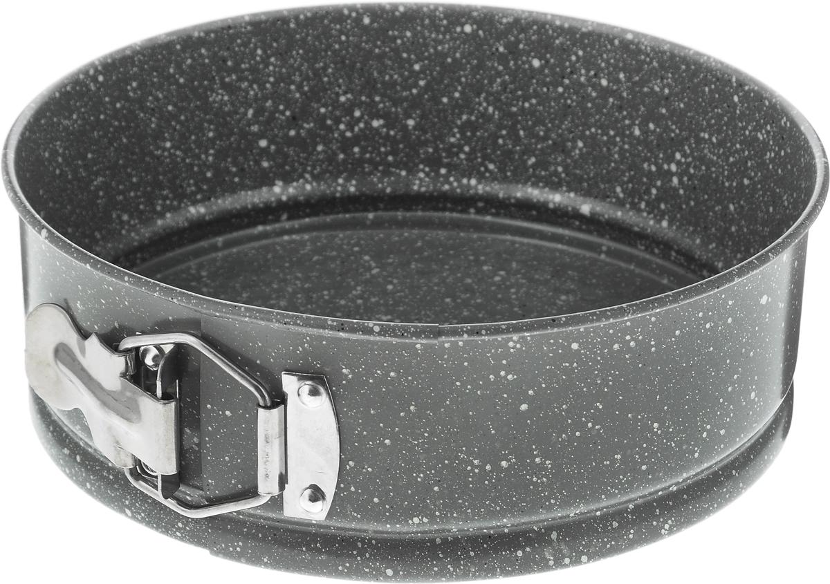 Форма для выпечки Regent Inox, круглая, с антипригарным покрытием, диаметр 20 см93-CS-EA-25-02Круглая форма для выпечки Regent Inox выполнена из стали с антипригарным покрытием, что предотвращает прилипание пищи к стенкам. Форма имеет разъемный механизм, благодаря чему готовое блюдо очень легко достать из формы. Причем блюдо можно не перекладывать в сервировочную тарелку, а сразу подавать на стол. Такая форма значительно экономит время по сравнению с аналогичными формами для выпечки. С формой для выпечки Regent Inox готовить любимые блюда станет еще проще. Подходит для использования в духовом шкафу. Не предназначена для СВЧ-печей.Диаметр формы: 20 см.Высота стенки: 7 см.