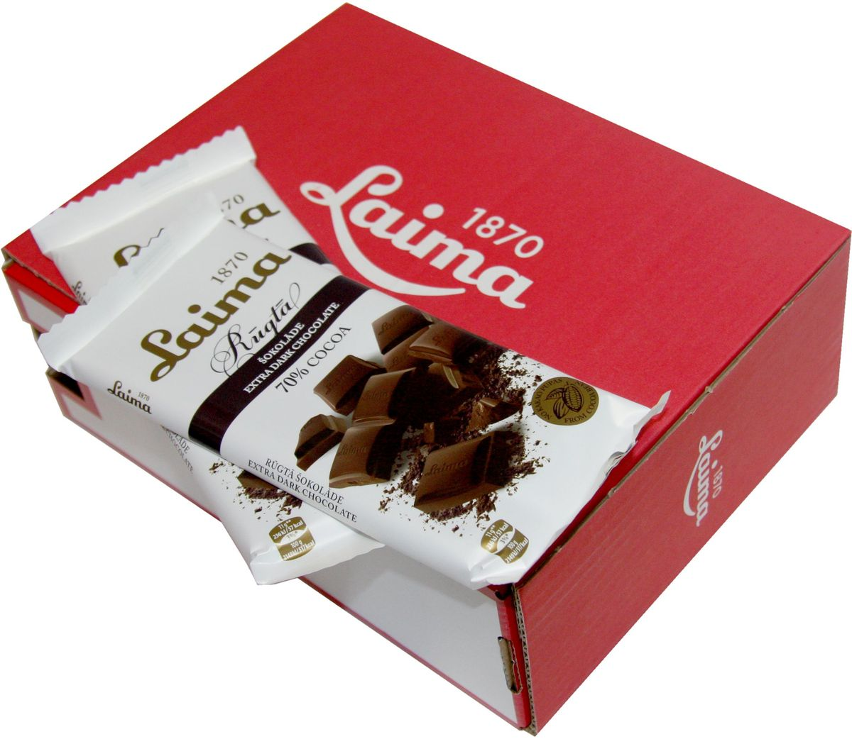 Laima Горький шоколад 70%, 100 г шоколад горький 77% какао блэкминт