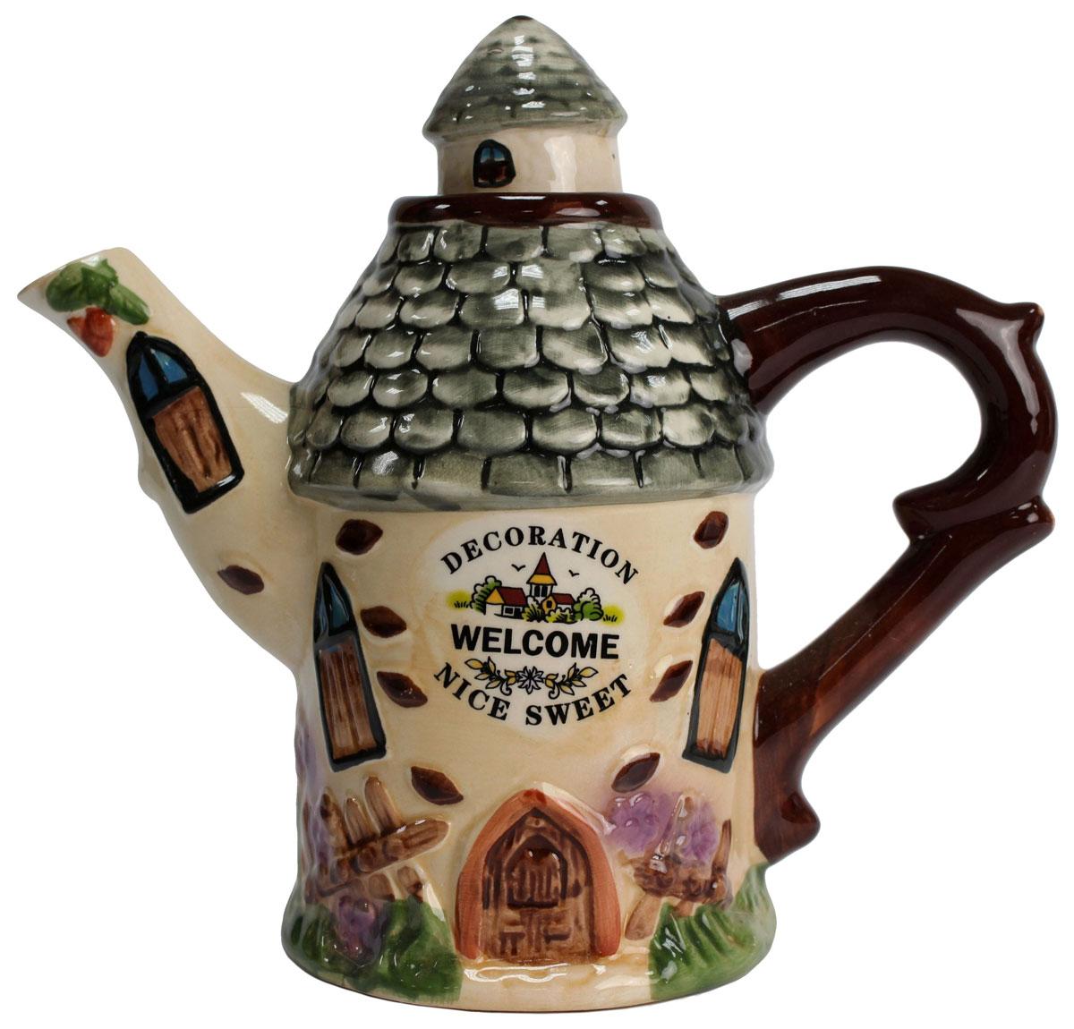 Чайник заварочный Домик, 600 мл. 824393VT-1520(SR)Этот великолепный чайник станет настоящим украшением любого стола. Послужит отличный подарком! Объем чайника 600 мл